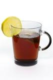 Vidrio de té Fotografía de archivo libre de regalías