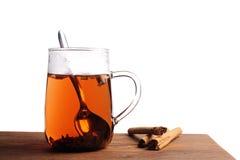 Vidrio de té Imagen de archivo libre de regalías