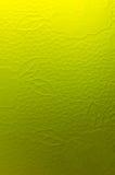 Vidrio de tierra amarillo Fotografía de archivo libre de regalías