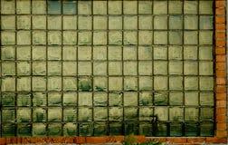Vidrio de ventana retro del oro Fotos de archivo libres de regalías