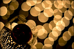 Vidrio de vino 11 Imagen de archivo