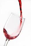 Vidrio de vino Foto de archivo libre de regalías