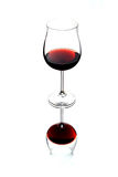Vidrio de vino fotos de archivo