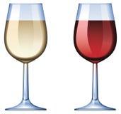 Vidrio de vino Imagen de archivo libre de regalías