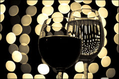 Vidrio de vino 9 Foto de archivo