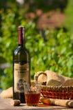 Vidrio de vino, aún vida Fotografía de archivo