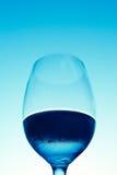 Vidrio de vino con agua Foto de archivo libre de regalías