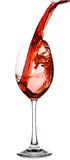 Vidrio de vino rojo Fotos de archivo libres de regalías