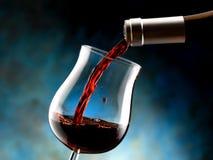 Vidrio de vino rojo Fotografía de archivo