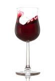 Vidrio de vino rojo Imagenes de archivo