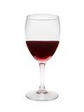 Vidrio de vino rojo fotografía de archivo libre de regalías