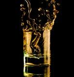 Vidrio de whisky. imagenes de archivo