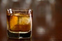 Vidrio de whisky Fotografía de archivo libre de regalías