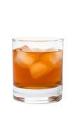 Vidrio de whisky Fotos de archivo