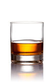 Vidrio de whisky escocés Imagen de archivo libre de regalías