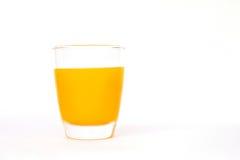 Vidrio de zumo de naranja Fotos de archivo libres de regalías