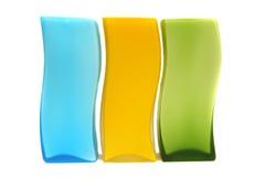 Vidrio del color Fotos de archivo libres de regalías