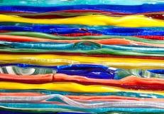 Vidrio del color Imágenes de archivo libres de regalías