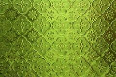 Vidrio del color verde Fotografía de archivo libre de regalías