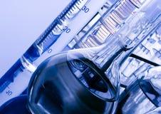 Vidrio del laboratorio Fotografía de archivo libre de regalías