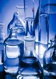 Vidrio del laboratorio Imagen de archivo libre de regalías