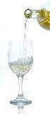 Vidrio del vino blanco Imágenes de archivo libres de regalías
