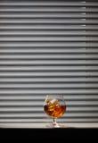 Vidrio del whisky Foto de archivo