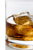 Vidrio del whisky Imagen de archivo libre de regalías