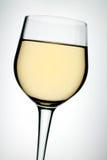 Vidrio en el vino blanco fotos de archivo libres de regalías