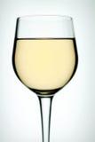 Vidrio en el vino blanco imágenes de archivo libres de regalías