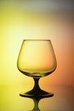 Vidrio en luz bicolor Fotos de archivo