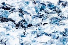 Vidrio ligero de las sombras blancas, grises y azules Imagen de archivo libre de regalías