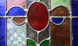 Vidrio manchado Imagen de archivo libre de regalías