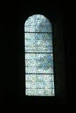 Vidrio manchado, escenas religiosas, Foto de archivo