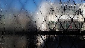 Vidrio moldeado window2 fotografía de archivo libre de regalías