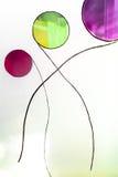 Vidrio pintado Ideal hecho a mano del trabajo para los fondos abstractos Imágenes de archivo libres de regalías