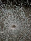Vidrio quebrado Fotografía de archivo