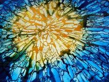 Vidrio quebrado Foto de archivo