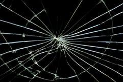 Vidrio quebrado Fotos de archivo