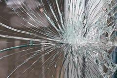 Vidrio quebrado. Imágenes de archivo libres de regalías