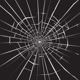Vidrio quebrado ilustración del vector