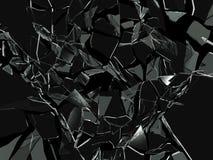 Vidrio quebrado Stock de ilustración