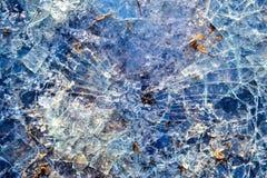 Vidrio quebrado El vidrio fue roto imagen de archivo