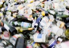 Vidrio reciclado Imagen de archivo