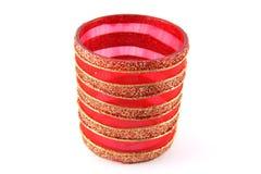 Vidrio rojo Fotografía de archivo libre de regalías