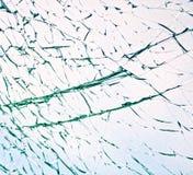 Vidrio roto Imagen de archivo libre de regalías