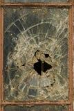 Vidrio roto Fotografía de archivo