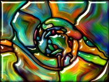 Vidrio sintético Imagenes de archivo