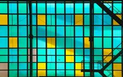 Vidrio transparente colorido Imágenes de archivo libres de regalías