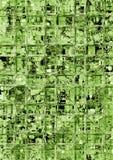 Vidrio verde Imagenes de archivo